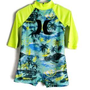 Hurley Nike DriFit Rashguard One Piece Swimwear 6m